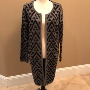 Ariat Patterned Cardigan Sweater
